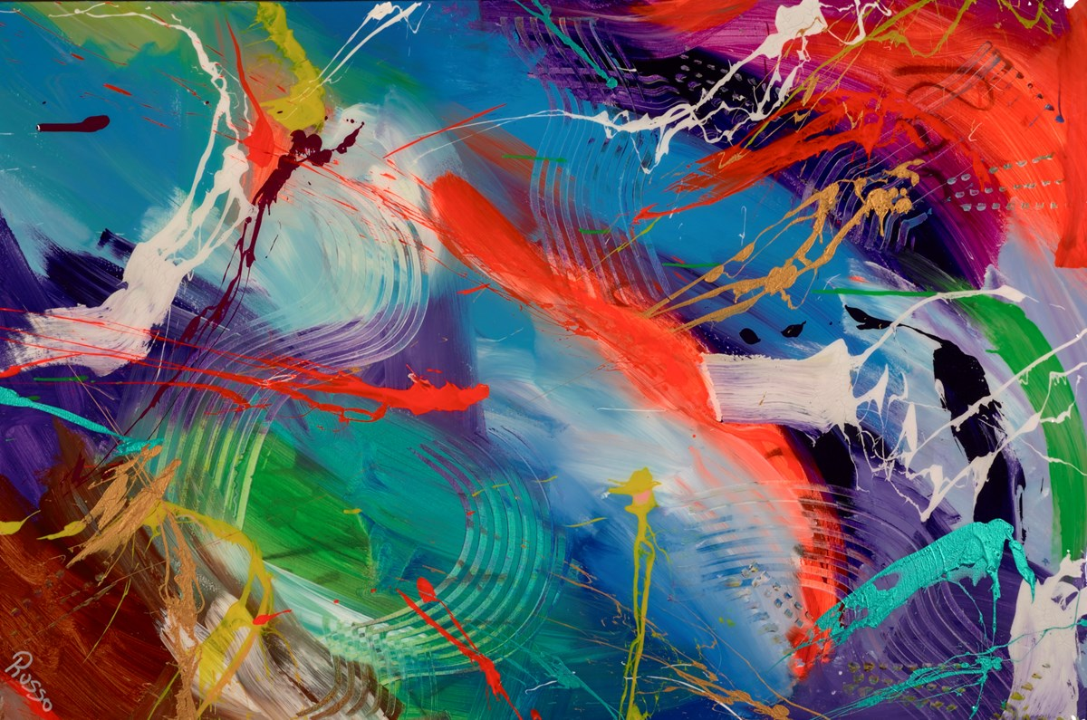 Fluid of Grace - Ambient House by antonio russo -  sized 59x39 inches. Available from Whitewall Galleries